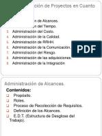 1-Administración de Los Alcances