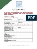 Vorlage Bewerbungsprozess CV12901 Popunjen