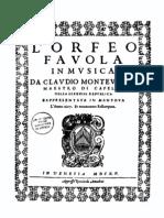 Full Skor Monteverdi Orfeo(Tu Se'Morta)Ms 39-40