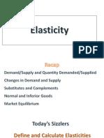 Microeconomics - Price Elasticity