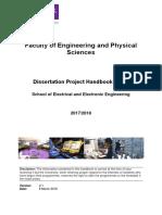 MSc Project Handbook 17-18 - Final