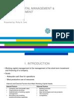 1 Working Capital Management & Cash Management.pptx