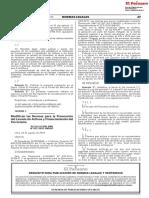 Modifican las Normas para la Prevención del Lavado de Activos y Financiamiento del Terrorismo