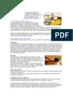 Aromaterapia generalidades