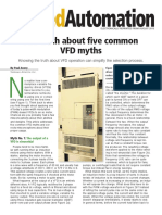 VFD myths