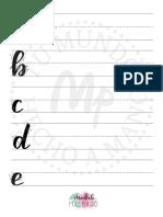Plantilla Lettering