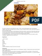 Pollo de Las Monjas Con Patatas Amarillas