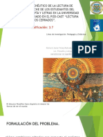 Javier Perez- Propuesta Tesis Comentada. (primer semestre)