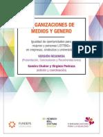 Organizaciones empresas medios y género-2017 Resumen