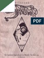 Wraith - The Oblivion - Guildbook Two - Sandmen.pdf