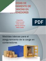 Medidas de Aseguramiento de Mercancías en Contenedores