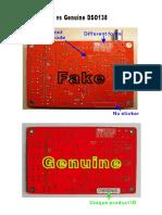DSO138 Fake vs Genuine
