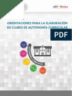 Orientaciones Para La Elaboracion de Clubes Propios