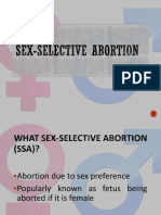 Sex-Selective Abortion New Ppt