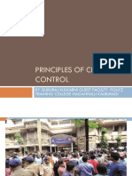 Principles of Crowd Control