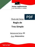 02 Regla de Tres Simple (Logikamente).pdf