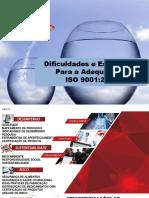 Dificuldades e Estratégias Para a Adequação à ISO 9001-2015