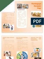 Leaflet Sarapan