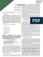 Revocan resolución que declaró improcedente solicitud de inscripción de lista de candidatos para el Concejo Distrital de Santa Rosa de Quives provincia de Canta departamento de Lima