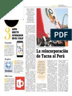 La Reincorporación de Tacna Al Perú