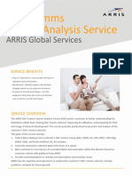 Global Services Dac Comms System Analysis Data Sheet