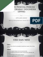 Ikatan Pemuda Pemudi Minangkabau Indonesia