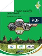 Cost of Doing Business in Myanmar Survey Report2018