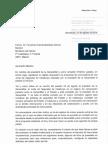 La carta del conseller d'Interior, Miquel Buch, al ministre de l'Interior, Fernando Grande-Marlaska