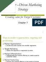 Customer–Driven Marketing Strategy