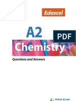 Edexcel A2 Chemistry Questions and Answers