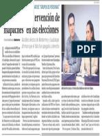 """27-08-18 PRI denuncia intervención de """"mapaches"""" en las elecciones"""