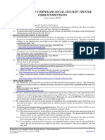 ADP Systems Code, Form #09 025 | Social Security Number
