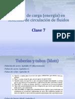 Perdidas de carga en tuberias. Clase 7 (1).pdf
