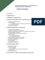 MANUAL DEL SISTEMA ISO 22000 PARA LA GESTIÓN DE LA SEGURIDAD DE LOS ALIMENTOS.docx