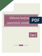 Curs2 Arhitectura Functionala Caracteristici