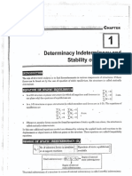 Determinacy Indeterminacy and Stability