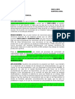 Formula Solucion Bolivia