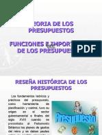 Presentacion Generalidades de Los Presupuestos
