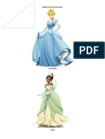 Nombres de Las Princesas