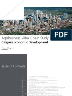 Agribusiness Value Chain Study