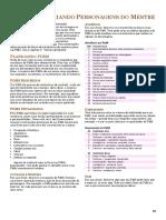 D&D 5 - Guia Do Mestre NPCS
