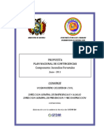 Plan de Contingencias- Incendios Forestales