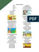 Cantos Infantiles , Chistes, Adivinanzas, Cantos Artisticos