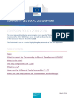 Communitarian Economic Development - Europen Commission (2014)