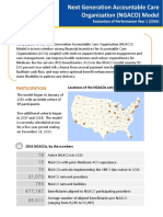 Next Generation ACOs - First Annual Report