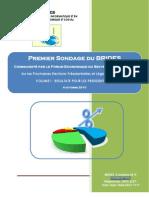 Resultats Sondage Du Brides_ Vol I_sur Les Presidentilles Fesp