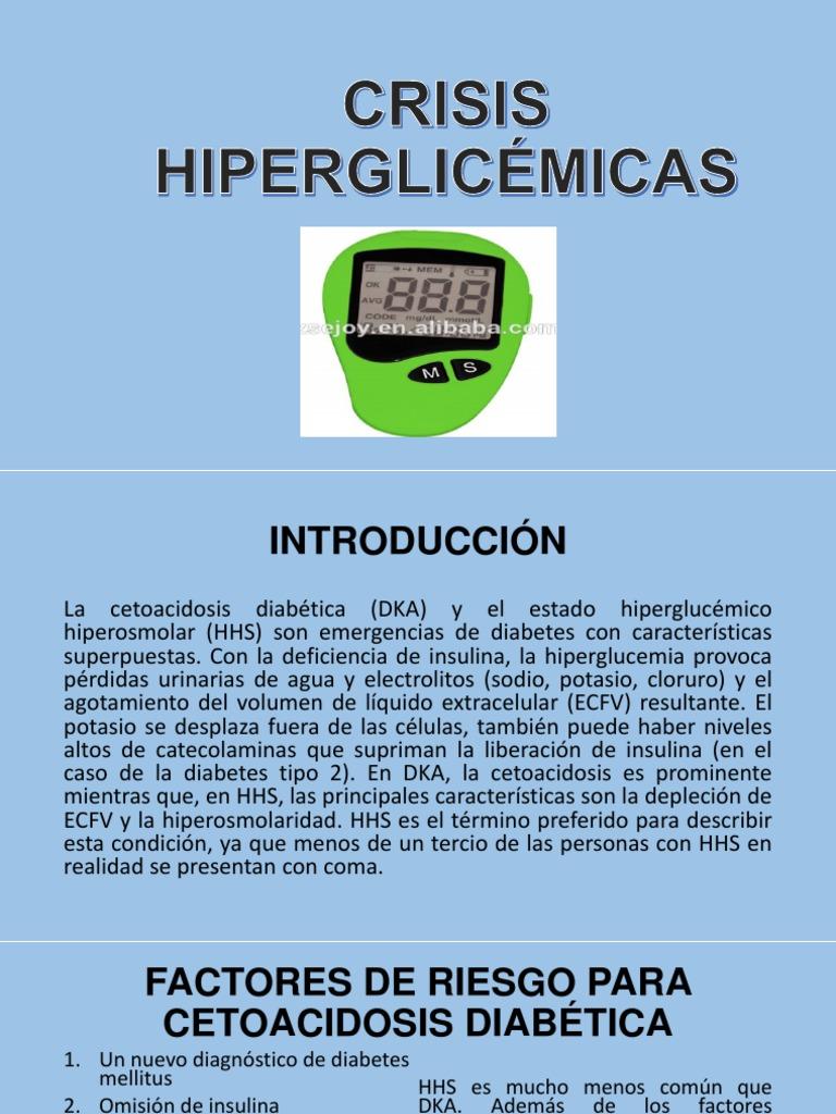 factores de riesgo para la diabetes cetoacidosis