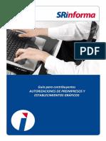 Guia para contribuyentes  autorizaciones preimpresas y EGS.pdf
