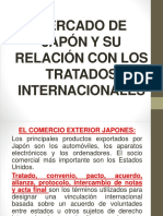 Presentacion - Mercado de Japón y Su Relación Con Los Tratados Internacionales