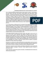 Comunicado Bancada de la Defensa de implicados en el caso del Andino